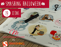 Halloween Smashing Icons