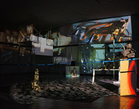 Video Mapping in Art Exhibition