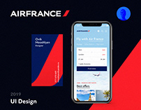 Air France. Website concept