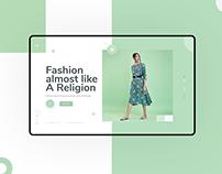 Ecommerce Fashion | Daily UI Challange #01