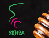 SDRA Honey Logo & branding