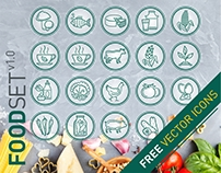 Food icons. FREE