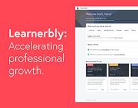 Learnerbly: professional development platform