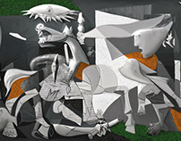 My Picasso Serie : Guernica