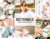 Buttermilk Mobile & Desktop Lightroom Presets