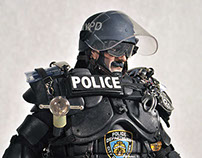 "Joseph ""The Peacekeeper"" Egitto: Superhero 1985 NYC Cop"