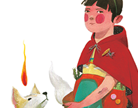 Otra Caperucita Ilustración para Chirimbote