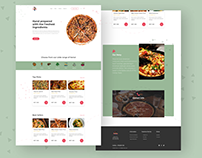 Pizza Inn Landing Page Redesign