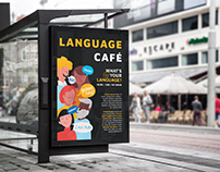 Language Meetup - Event poster
