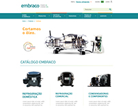 Proposal for Embraco Website