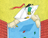 紙船 / paper boat
