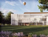 Maison du projet / LSW Architectes