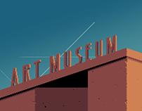 Modern Art Museum & Guardian - (Mock-Up)
