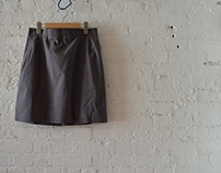 TL 111 - Ladies Tailoring 1 - Skirt w Hong Kong Binding