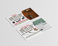 Business card #4 shop plumbing and door locks