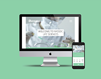 NYCEDC Life Sciences Website Design Concept