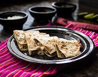 Fotografías para menu de restaurante LACA-LACA