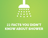 Infographic: 22 Facts you didn't know about shower