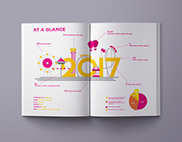 Lunaland- Print and Digital Theme park annual report