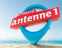 Antenne 1 Urlaubskampagne CGI