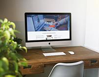 Ontwerp en realisatie website van eigen onderneming.
