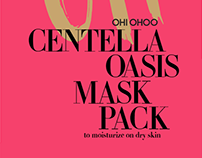 centella oasis mask pack