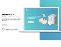 MSMEmitra Website UI/UX
