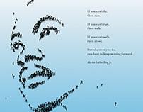 MLK Commemorative Poster