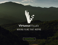 Virtuous Visuals Logo, Stationary & Website