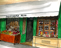 Urban Sketchers Pt - Lisbon Traditional Stores