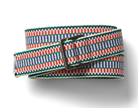 gap, men's multicolor belt, accessories/woven