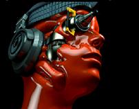 Dj.Cyborg 3D / Art&Cia