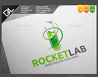 Rocketlab Logo Template