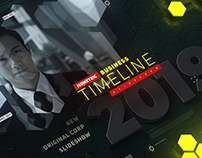 BUSINESS TIMELINE ISOMETRIC SLIDESHOW