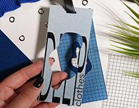 DEEP clothes. Дизайнерская разработка.Packaging Design.