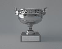 The Frensh Open Roland Garros Trophy - 3D Model