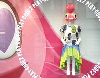 YAMATO MANNEQUIN Mitsukoshi Display (2013)