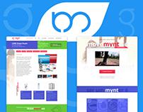 Landing Pages | geração mynt