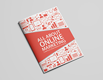 Cover pages for books on Internet Marketing