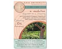 Ad Design: Gaia University