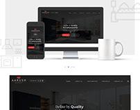 Aarush: Website UI Design