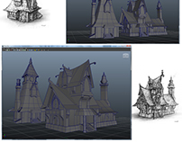 3D Models from Concept Art