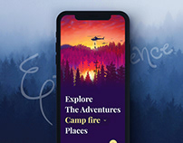 App for Exploring Adventurous Places