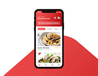 Eato - Find the Perfect Food - App Concept