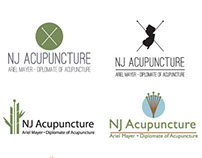 NJ Acupuncture Logo Design for HarrisonRand Advertising