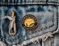радикальный домосед / logotype & pins