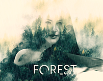 Double Exposure - Forest