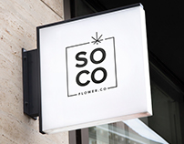 Soco Flower - Brand design