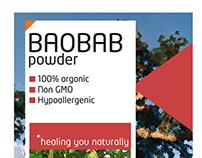 Umoyo - Moringa & Baobab Powder Label