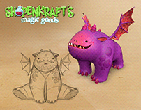 Characters for Shopenkraft's Magic Goods